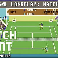 Match Point - C64 Longplay / Playthrough / Walkthrough (no commentary) 4K 60FPS ;) #retrogaming - YouTube