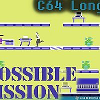 Impossible Mission - C64 Longplay / Full Playthrough - YouTube